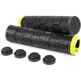 Sixpack D-Trix Manopole, black/neon yellow